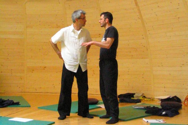 Conduzione seminario di studi della Scuola di Shiatsu Ken Ko Ho presso Centro d'Ompio 1