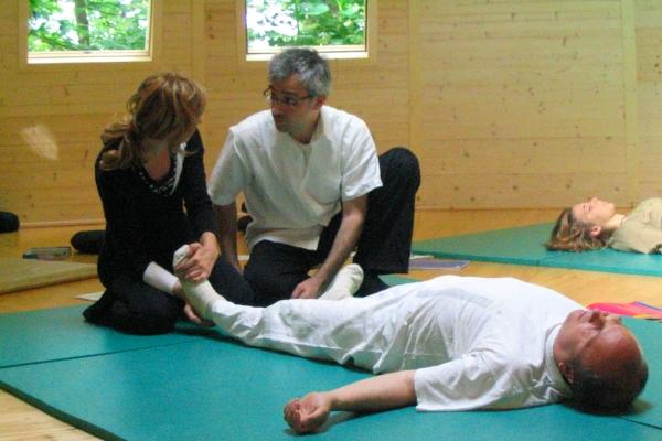Conduzione seminario di studi della Scuola di Shiatsu Ken Ko Ho presso Centro d'Ompio 2